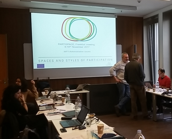 6th Consortium meeting in Frankfurt, 8th-10th November 2017