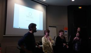Tandem presentation at the EHESP